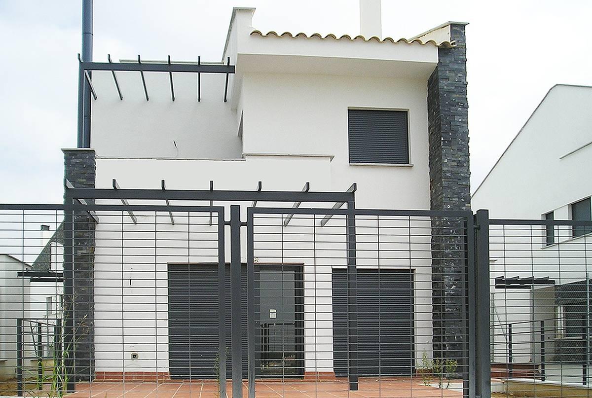 18 viviendas unifamiliares pareadas con patio guillena - Proyectos de viviendas unifamiliares ...