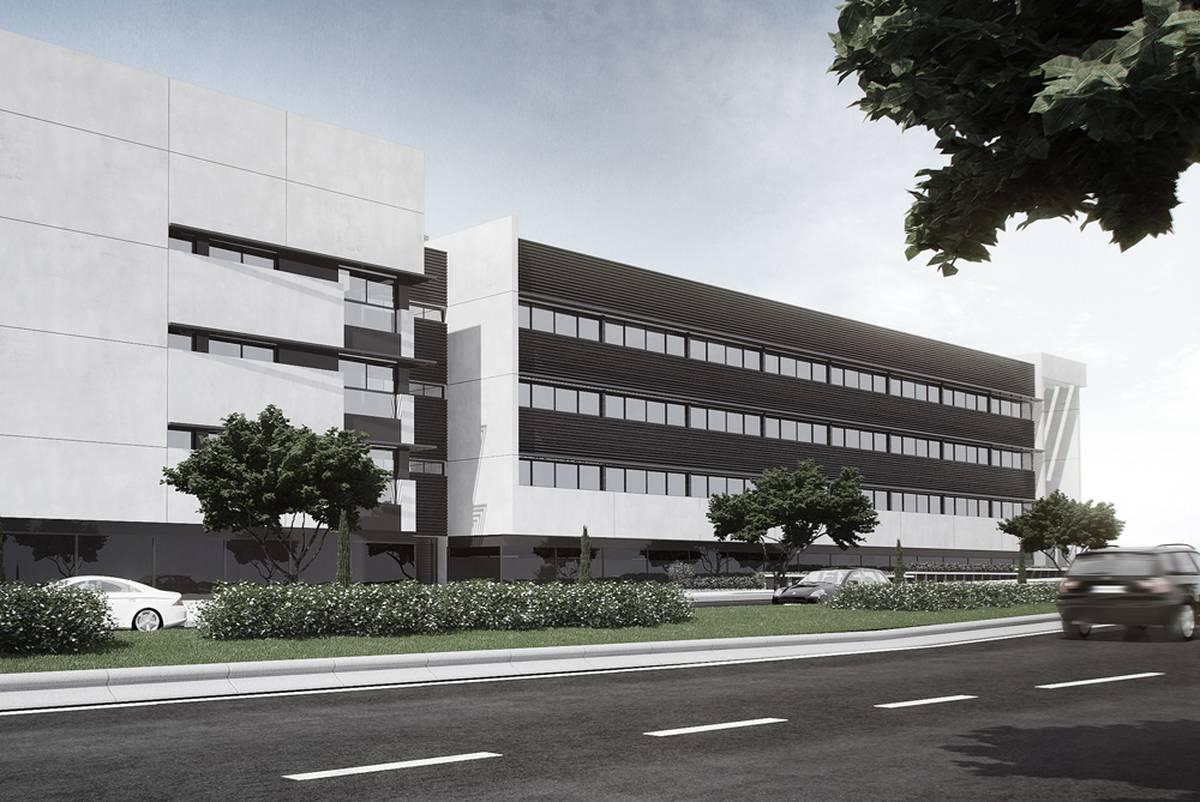 Edificio terciario comercial oficinas y despachos for Oficina electronica dos hermanas