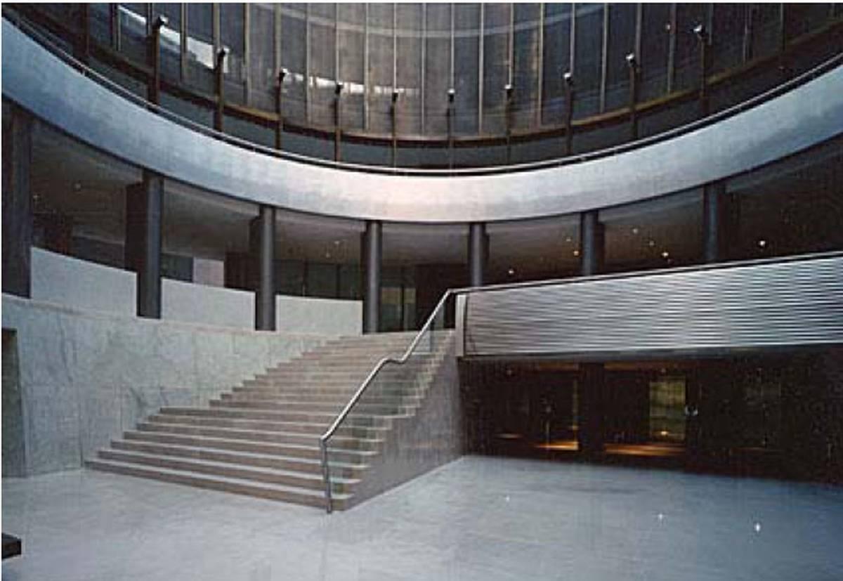 Rehabilitaci n de edificio para sede de banco santander for Banco santander madrid oficinas